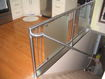 Handrail With Glass Inserts